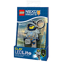 Buy LEGO Nexo Knights Clay Keyring LED Lite Online at johnlewis.com