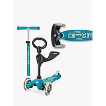 Buy Mini Micro 3in1 Deluxe Scooter, 1 - 5 years Online at johnlewis.com