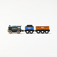 Buy John Lewis Wooden Train and Cargo Set Online at johnlewis.com