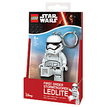 Buy LEGO Star Wars Episode VII First Order Stormtrooper LED Key Light Online at johnlewis.com
