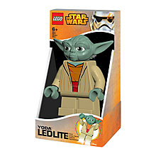 Buy LEGO Yoda LED Lite Torch Online at johnlewis.com