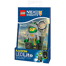 Buy LEGO Nexo Knights Aaron Keyring LED Lite Online at johnlewis.com