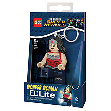Buy LEGO Wonder Woman LED Lite Torch Online at johnlewis.com