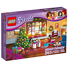 Buy LEGO Friends 41131 Advent Calendar Online at johnlewis.com