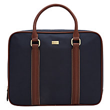 Buy Ted Baker TB Nylon Document Holder, Navy Online at johnlewis.com