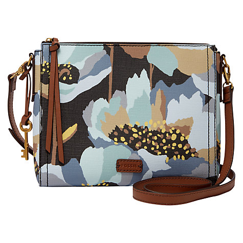 Buy Fossil Emma East / West Across Body Bag Online at johnlewis.com