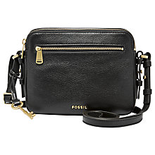 Buy Fossil Piper Toaster Leather Across Body Bag Online at johnlewis.com