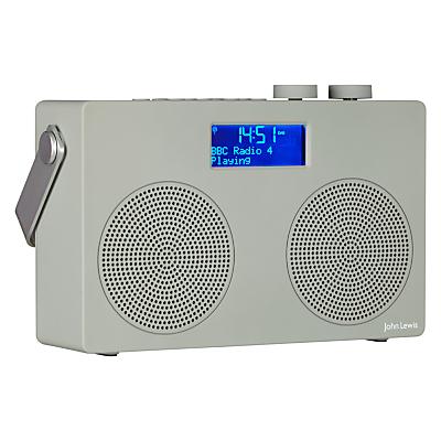 roberts expression portable dab radio grey grey radios. Black Bedroom Furniture Sets. Home Design Ideas