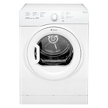 Buy Hotpoint TVFS73BGP Vented Tumble Dryer, 7kg Load, B Energy Rating, White Online at johnlewis.com