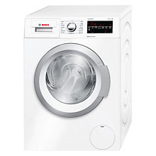 Buy Bosch Serie 6 WAT24420GB Freestanding Washing Machine, 8kg Load, A+++ Energy Rating, 1200rpm Spin, White Online at johnlewis.com