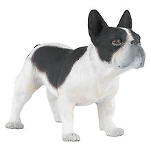 Buy Papo Black and White Bulldog Online at johnlewis.com