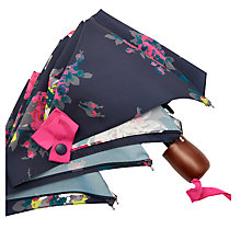 Buy Joules Floral Umbrella, Navy/Fuchsia Online at johnlewis.com