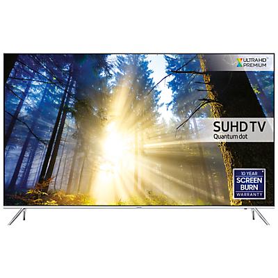 "Samsung UE49KS7000 SUHD HDR 1000 4K Ultra HD Quantum Dot Smart TV 49"" with Freeview HDFreesat HD Playstation Now & Branch Feet Design UHD Premium"