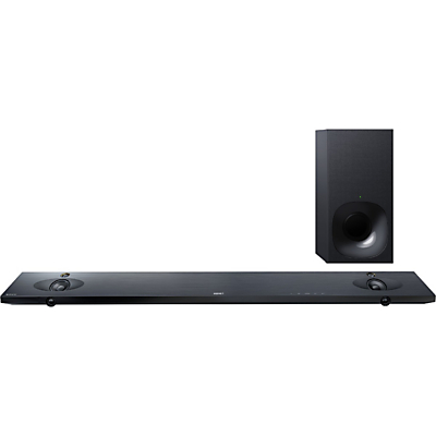 Sony HTNT5 BluetoothNFC Sound Bar With Wireless Subwoofer HighRes Audio and 4K HDR PassThrough