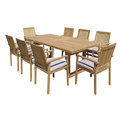 John Lewis Linear Dining Set, FSC-certified (Teak)