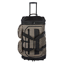Buy Antler Tundra Decker Trolley, Khaki Online at johnlewis.com