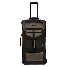 Buy Antler Tundra Large Trolley, Khaki Online at johnlewis.com