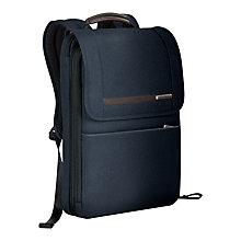 Buy Briggs & Riley Kinzie Flapover Expandable Backpack Online at johnlewis.com