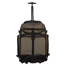 Buy Antler Tundra Trolley Backpack, Khaki Online at johnlewis.com