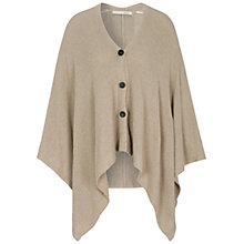 Buy Oui Button-Through Poncho, One Size Online at johnlewis.com