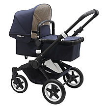 Buy Bugaboo Buffalo Classic+ Pushchair, Navy Online at johnlewis.com