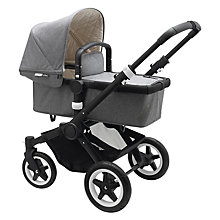 Buy Bugaboo Buffalo Classic+ Pushchair, Grey Melange Online at johnlewis.com