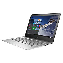 "Buy HP ENVY 13-d006na Laptop, Intel Core i3, 4GB RAM, 128GB, 13.3"" Full HD, Natural Silver Online at johnlewis.com"