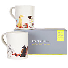 Buy Fenella Smith Dogs Trust Mugs, Set of 2 Online at johnlewis.com