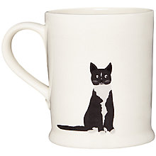 Buy Fenella Smith Black & White Cat Mug Online at johnlewis.com