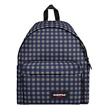 Buy Eastpak Padded Pak'r Backpack, Checksange Blue Online at johnlewis.com