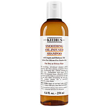 Buy Kiehl's Smoothing Oil Infused Shampoo, Dry / Frizzy Hair Online at johnlewis.com