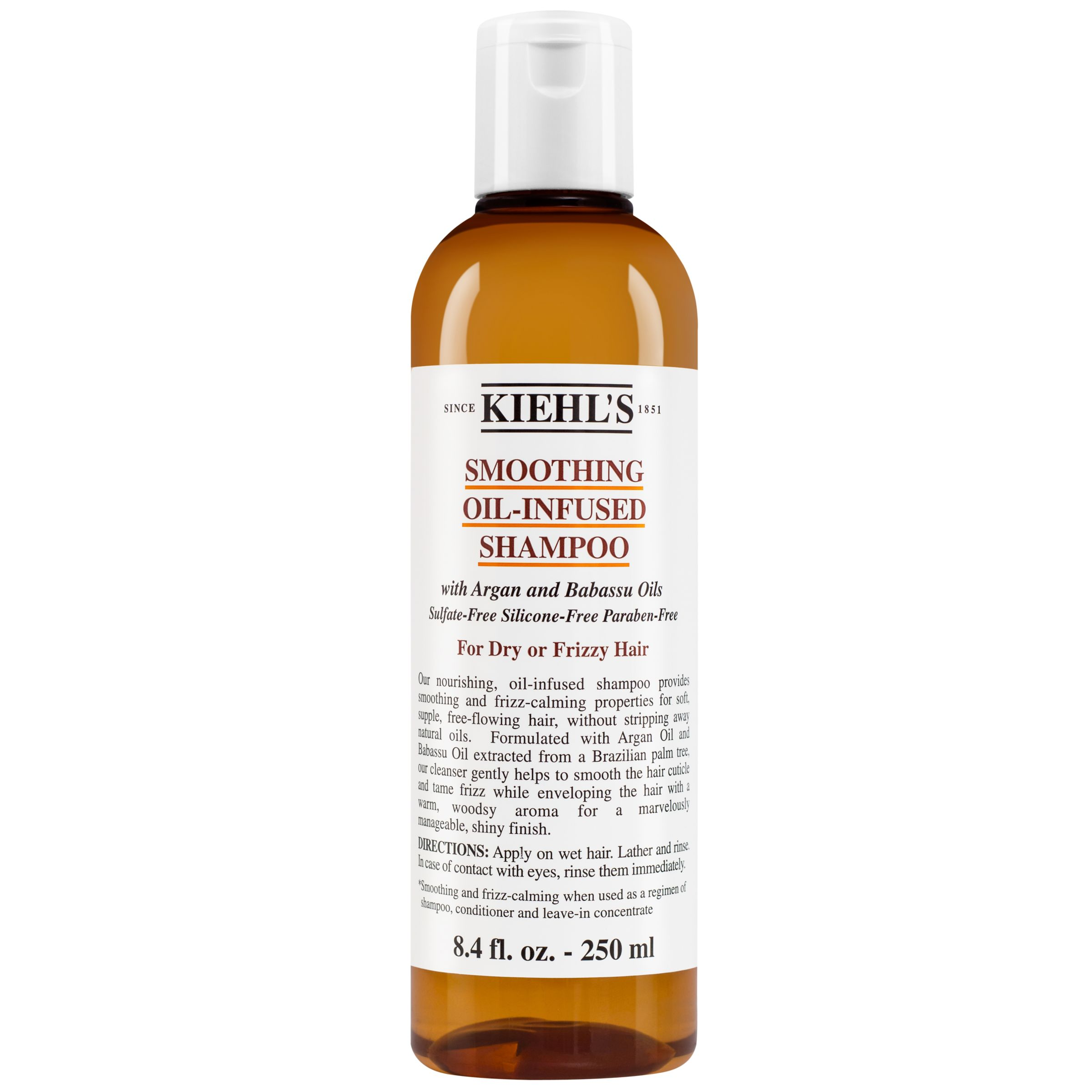 Kiehls Kiehl's Smoothing Oil Infused Shampoo, Dry / Frizzy Hair