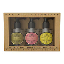 Buy Naturally European Mini Luxury Hand Wash Collection Online at johnlewis.com
