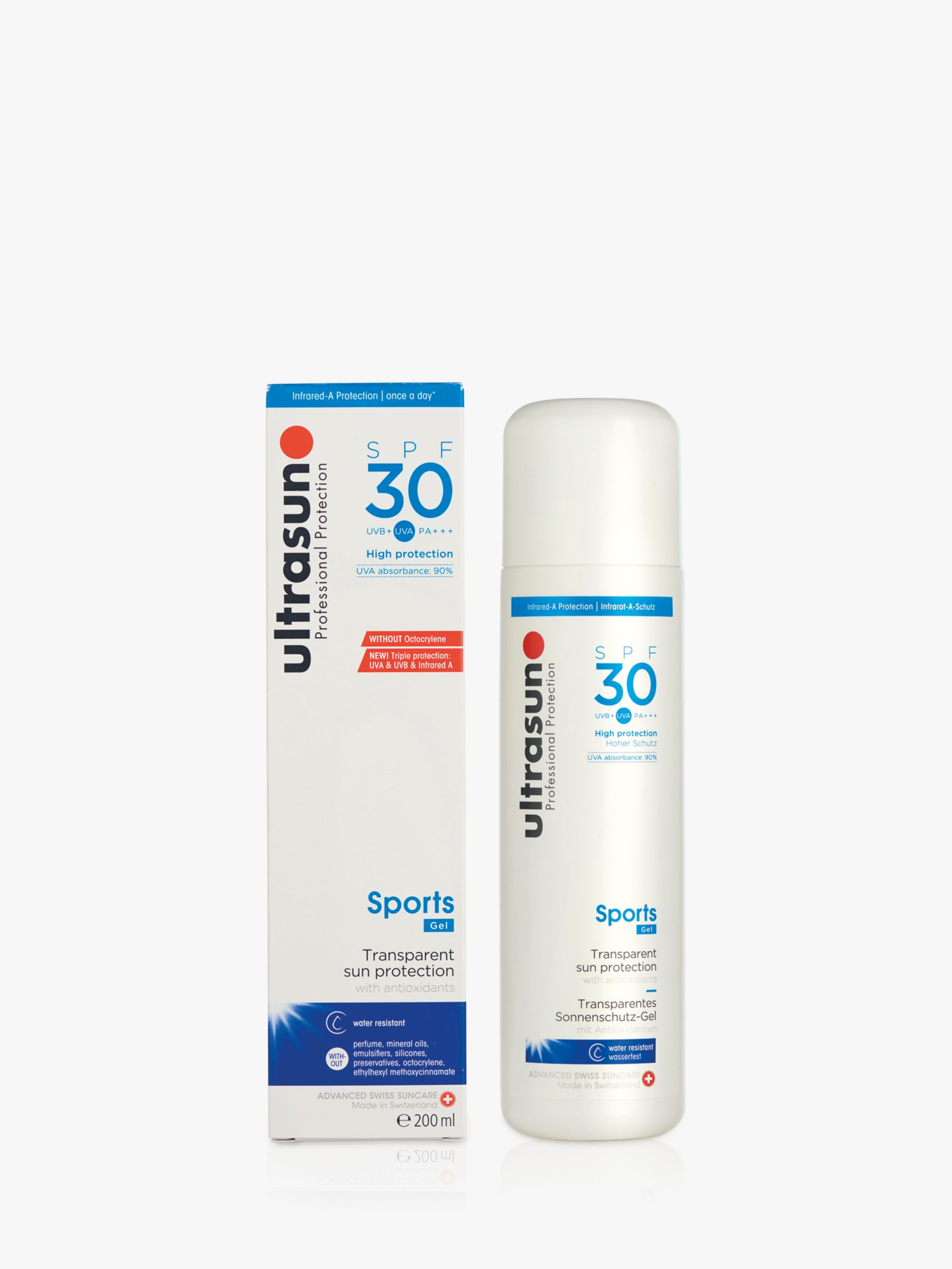 Ultrasun Ultrasun SPF 30 Sports Gel, 200ml