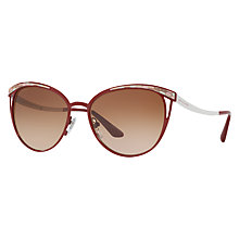 Buy Bvlgari BV6083 Oval Sunglasses Online at johnlewis.com