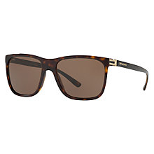 Buy Bvlgari BV7027 Square Sunglasses, Tortoise Online at johnlewis.com