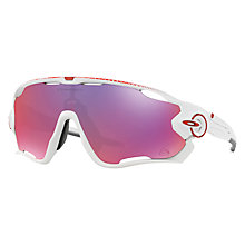 Buy Oakley OO9290 Jawbreaker™ Prizm™ Road Tour de France Sunglasses Online at johnlewis.com