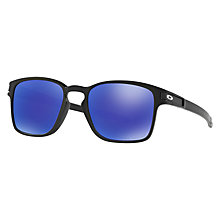 Buy Oakley OO9353 Latch SQ Polarised Square Sunglasses Online at johnlewis.com