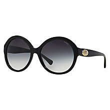 Buy Coach HC8149 Round Sunglasses Online at johnlewis.com