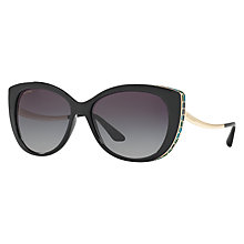 Buy Bvlgari BV8178 Embellished Cat's Eye Sunglasses Online at johnlewis.com