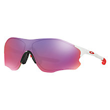 Buy Oakley OO9308 EVZero Path Prizm™ Road Sunglasses, Polished White/Indigo Online at johnlewis.com