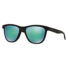 Buy Oakley OO9320 Polarised Moonlighter D-Frame Sunglasses Online at johnlewis.com