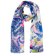Buy East Nico Print Scarf, Multi Online at johnlewis.com