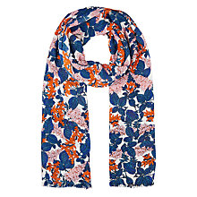 Buy Whistles Damson Print Scarf, Multi Online at johnlewis.com