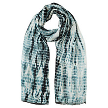 Buy East Tie Dye Silk Scarf Online at johnlewis.com
