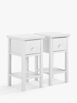 John Lewis & Partners Wilton Bedside Tables, Set of 2