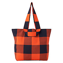 Buy Whistles Cedar Shopper Bag, Orange Online at johnlewis.com
