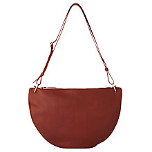 Buy Whistles Montrose Leather Half Moon Bag Online at johnlewis.com