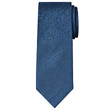 Buy Calvin Klein Tonal Leaf Tie Online at johnlewis.com