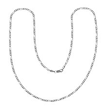 Buy Nina B Figaro Chain Necklace, Silver Online at johnlewis.com